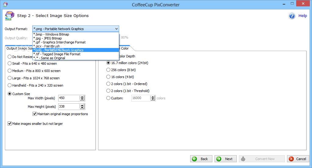 Coffe Cup PixConverter
