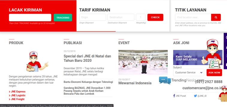 Untuk Jemput Paket Pahami Jam Kerja Kantor Dan Kurir Jne Trendingnesia