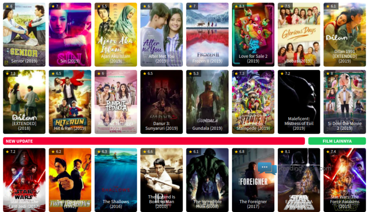 Ganti Baru Situs Nonton Streaming Film Online 2020 Gratis Trendingnesia