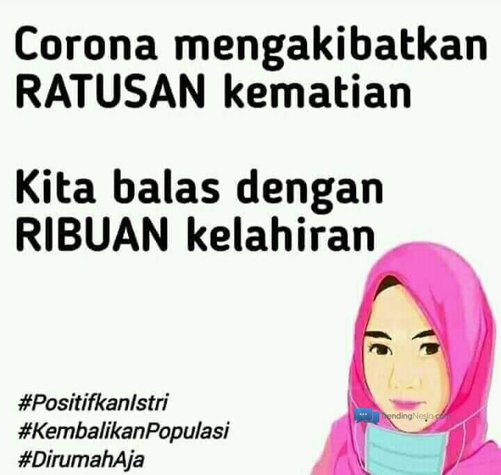 Kocak Gambar Video Dan Kata Kata Meme Corona Indonesia Trendingnesia